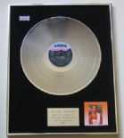 WHITNEY HOUSTON - Whitney Houston PLATINUM LP presentation Disc
